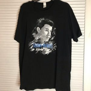 Shawn Mendes World Tour T-Shirt Size XL